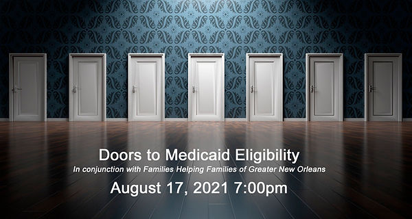 Doors to Medicaid Eligibility Flyer 8-17-2021 7pm