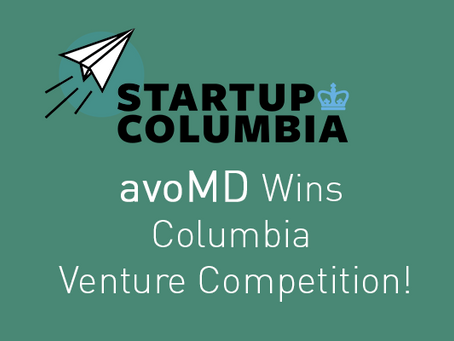 avoMD Takes 1st Place in the Columbia Venture Competition
