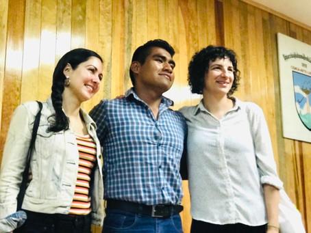 FILOANDO EN LA FACULTAD DE MEDICINA VETERINARIA Y ZOOTECNIA CON VERÓNICA GERBER Y LILIANA COLANZI