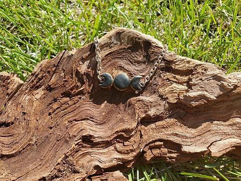 Triple Moon Chain Bracelet