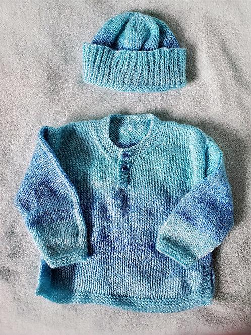 Baby Blues set 6-9 Months
