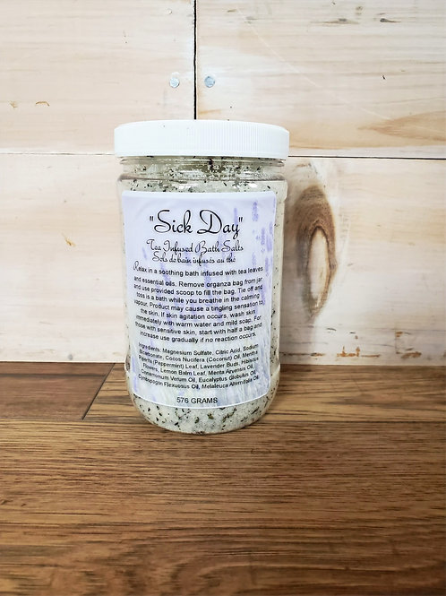 'Sick Day' Tea Infused Bath Salts