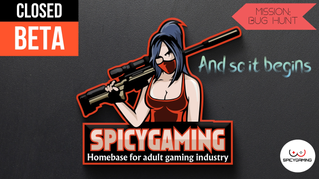 Closed Beta of the new SpicyGaming platform begins!