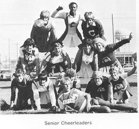 Powderpuff Football Cheerleaders