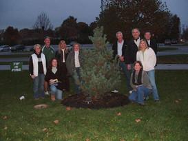 Memorial Tree Ceremony