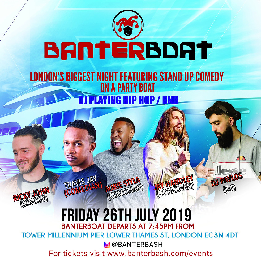 Banterboat -  Pirates of the River thames