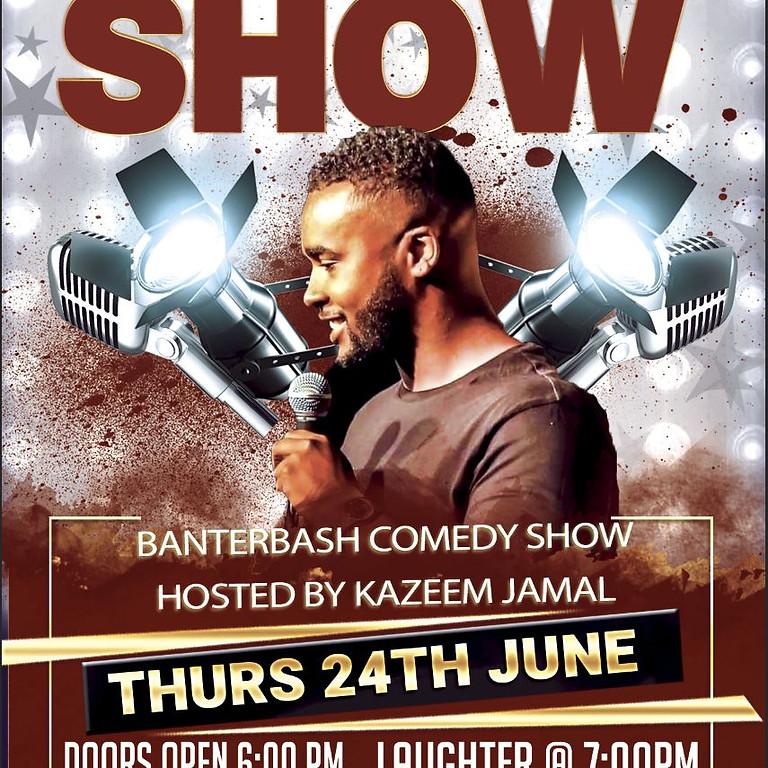 Banterbash Comedy show hosted by Kazeem Jamal