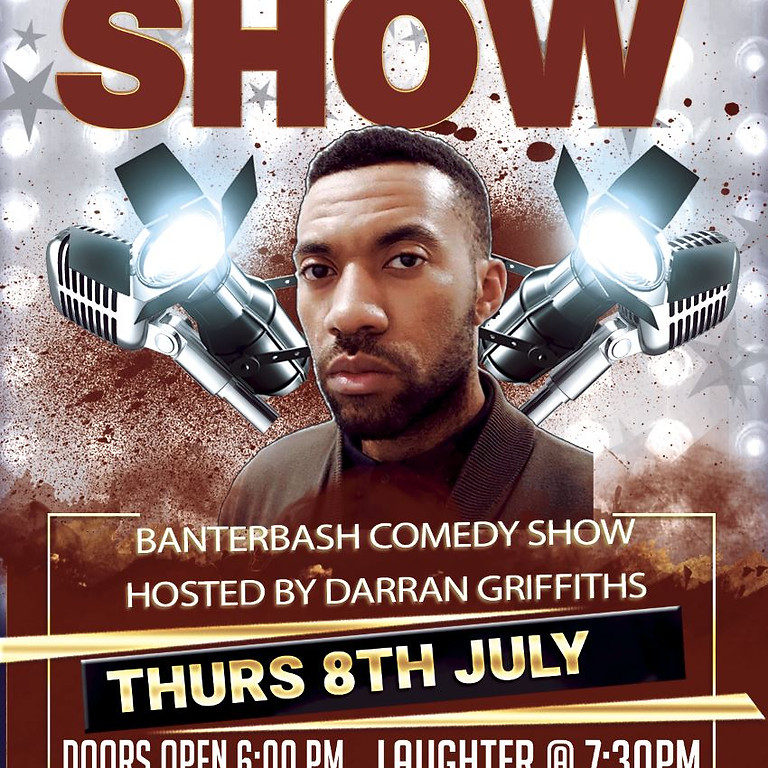 Banterbash Comedy show hosted by Darran Griffiths