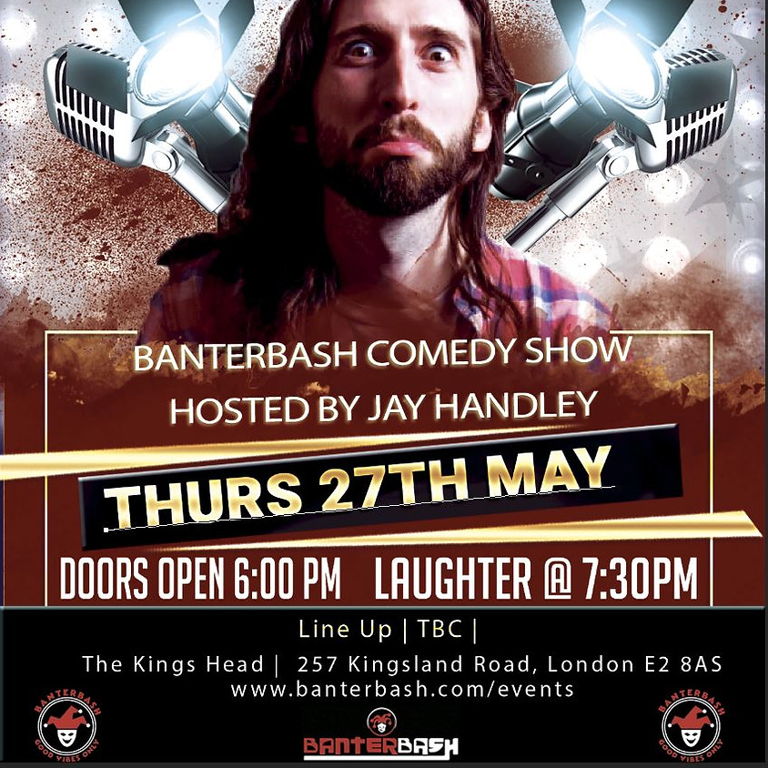Banterbash Comedy show hosted by Jay Handley