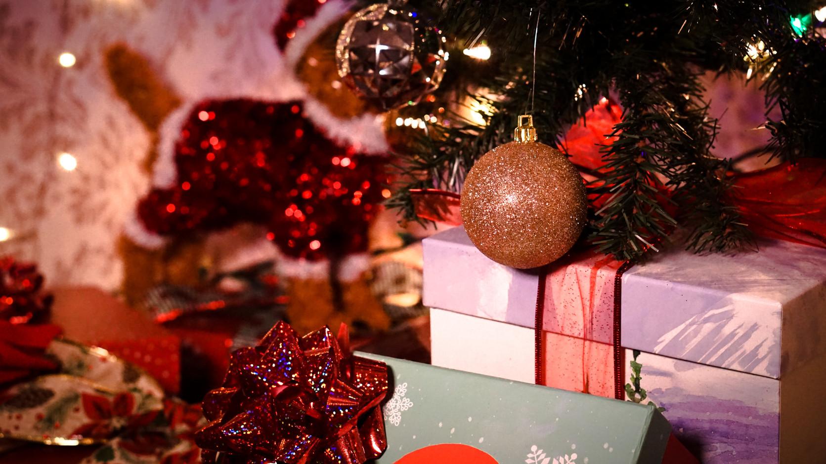 Christmas presents - escape room