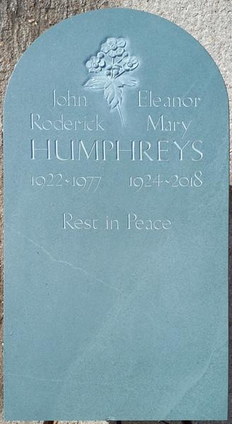 Joint headstone
