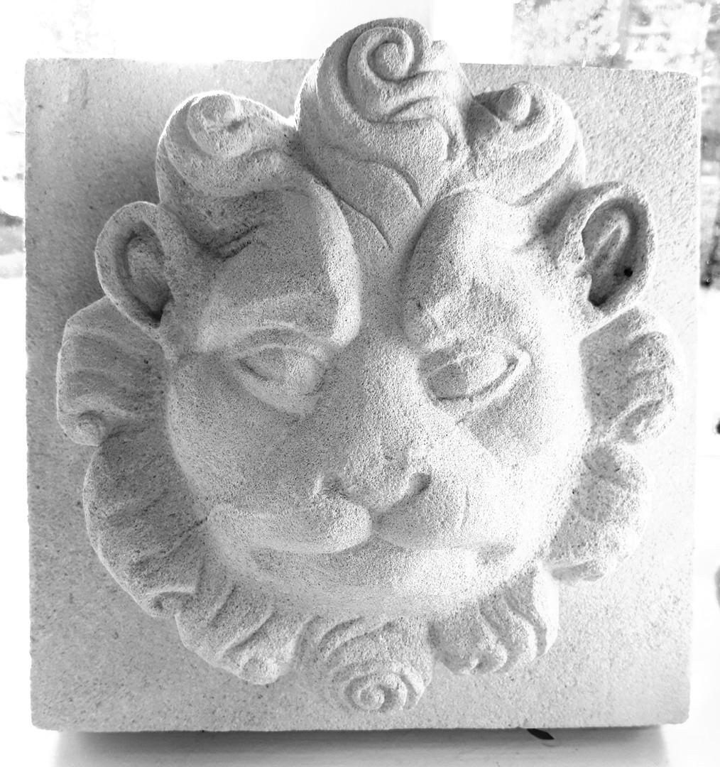 Simple lion head