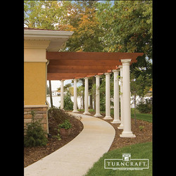 Round PVC Columns