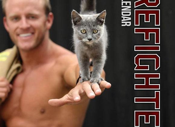 2019 Fire Fighters Calendar 'Cat Calendar'