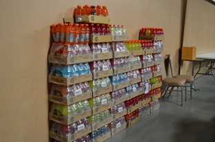 Donations for distribution