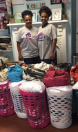Spring Fling Baskets for Nicholas House Families