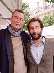 Christophe Langlois et Xavier Ricard Lan