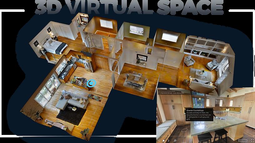 3D Virtual Walk Through