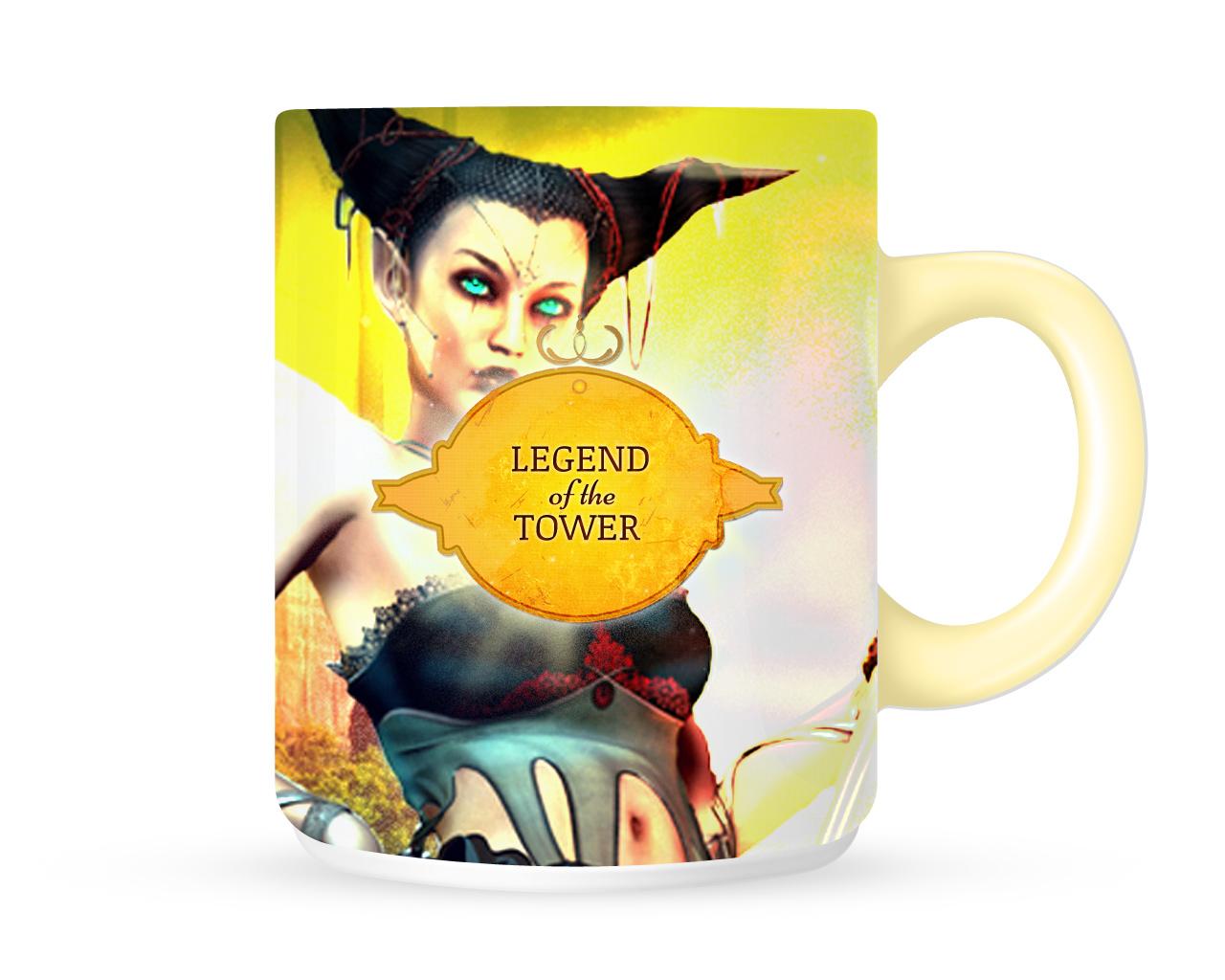 Sci-Fi Woman Mug
