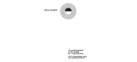 view finder logo, festival international de photographie à bruxelles, chan logo, picto viseur, view-master