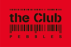 the club logo, dancing, chan logo, ancien pebbles, code barre