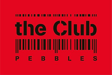 the club logo, dancing, chan logo, ancien pebbles, code barre