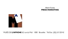logo musée de l'affiche à bruxelles, chan logo, la cambre, affiche, a