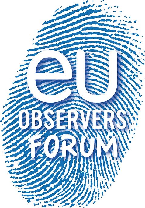 eu observers forum logo, chan logo, europe, élection, empreinte digitale