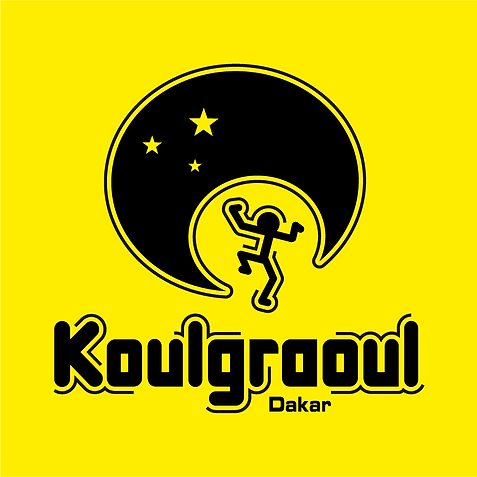 koulgraoul logo, dakar, soirée dansante dakar, éclectique, musique, chan logo, funky, afro, sénégal