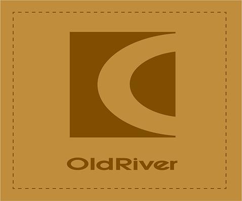old river logo, marque de vêtement, chic, classique, mode, tradition, chan logo, sigle, cachet