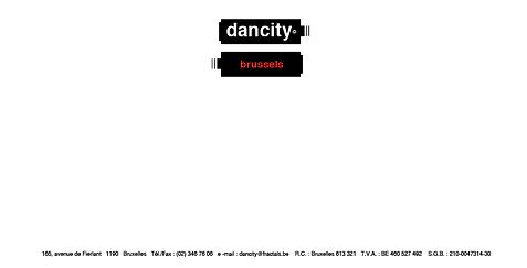 dancity logo, organisation interactive, avant garde des réseau sociaux, chan logo, picto piles, négatif-positif, énergie