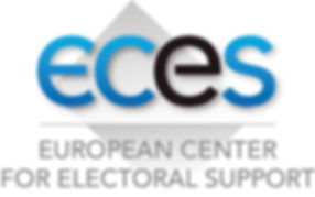 eces logo, european center for electoral support, europe, élection, chan logo, bulletin de vote, urne