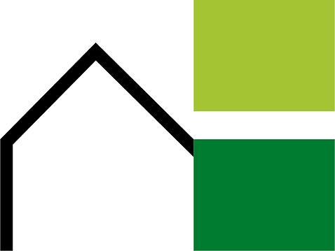 amaury hauptman logo, architecte, écologie, durable, construction, chan logo