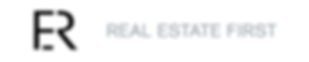 real estate first logo, chan logo, agence immobilière bruxelloise, luxe
