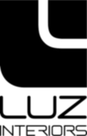 luz interiors logo, mobilier de luxe, jnl, chan logo, logo design