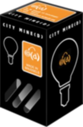 chan graphiste, brochure citymine(d), urbanisme culturel, packaging, ampoule, idée