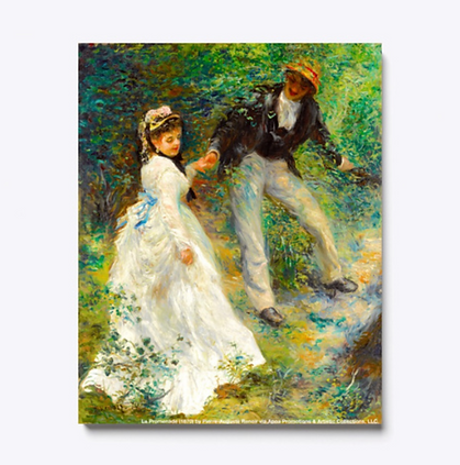 La Promenade Renoir Canvas sample.png