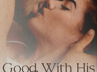 GOOD WITH HIS HANDS by Lucy Felthouse (@cw1985) #romance #steamy #shortstory