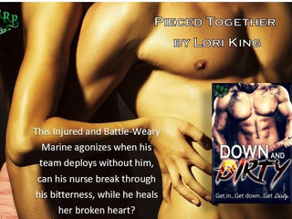 PIECED TOGETHER @LoriKingBooks #Downanddirty @RomanceRebels69