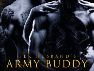 HER HUSBAND'S ARMY BUDDY by @MamaD8 #MMF #Menage #BDSM @EvernightPub