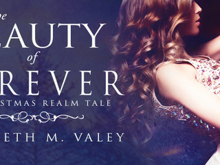 THE BEAUTY OF FOREVER by @ElyzabethM.Valey #christmas @EvernightPub