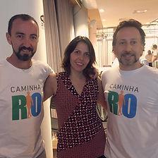 Valmir de Souza (Biomob) e Rodrigo Credidio (Goodbros) foram fundamentais para o surgimento do CaminhaRio