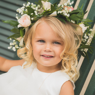 young flower girl