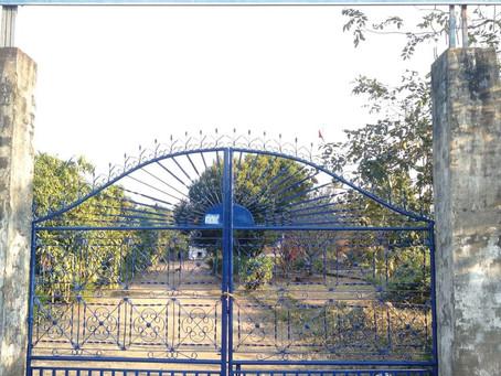 Réparation du portail d'entrée