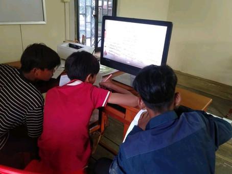 Premiers cours en ligne