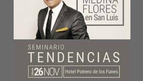 Fabián Medina Flores, el más crítico de la moda llega a San Luis
