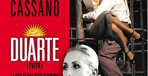 """Eleonora Cassano presenta """"La Duarte"""" en San Luis"""