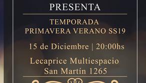 Lanzamiento de SS19 de San Luis Fashion Show