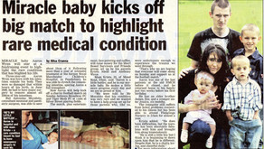 Miracle Baby Aaron - Charity Football Match
