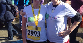 Beth's Runs Half Marathon in Memory of Anna